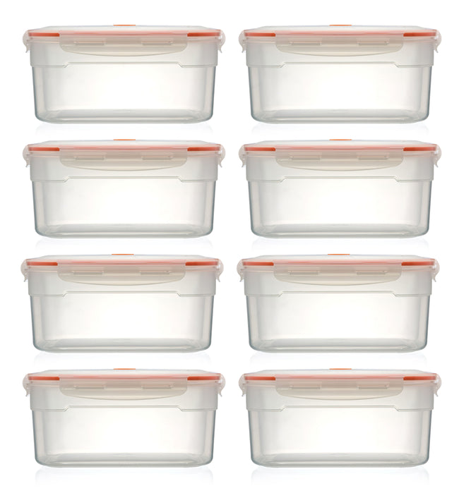 Nutrifresh To Go Set of 8 Vacuum Containers 3.5L