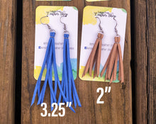 Load image into Gallery viewer, Suede Tassel 3.25 inches