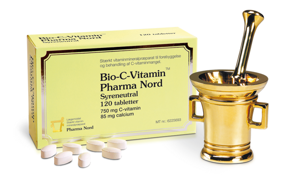 Pharma Nord • Bio-C-Vitamin syreneutral - 120 tabletter