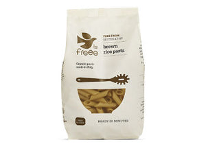 Freee by Doves Farm • Pasta, Brune ris Ø - 500 g