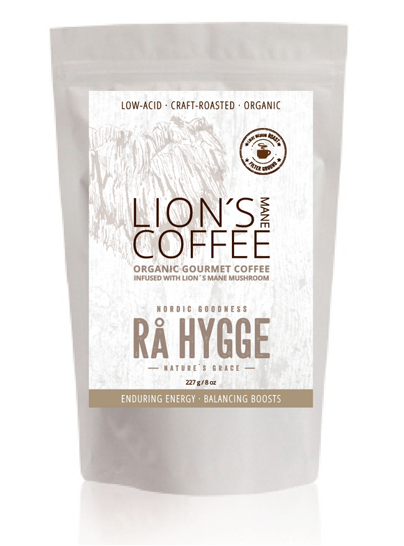 Gaia Trade Nordic • Lion's Mane kaffe filter ground