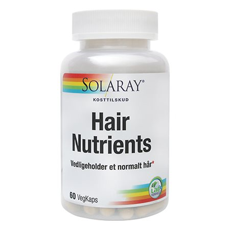 Solaray • Hair Nutrients - 60 kapsler