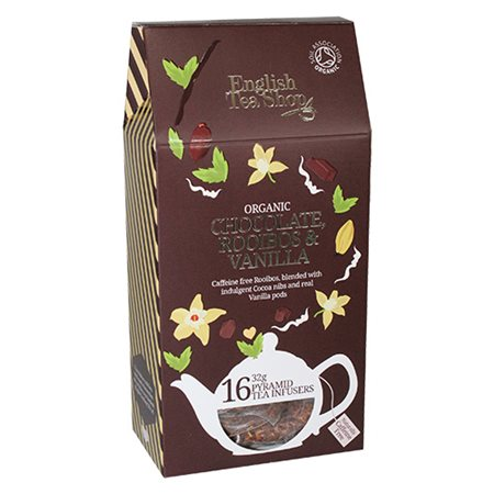 English Tea Shop • ETS Chocolate, Rooibos og vanila Te