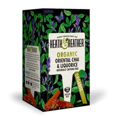 Heath&Heather • Oriental Chai & Liquorice - 20 br