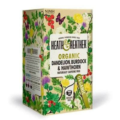 Heath&Heather • Dandelion, Burdock, Havtorn - 20 br