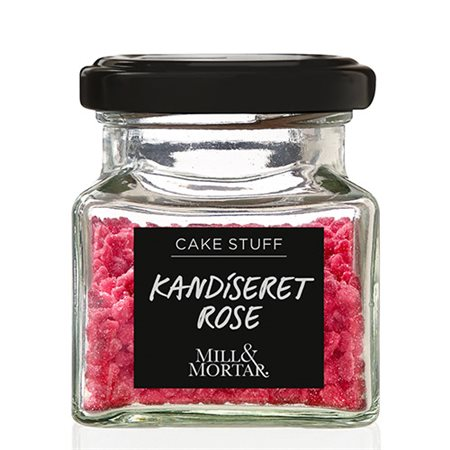 Mill & Mortar • Kandiseret rose - 40 g