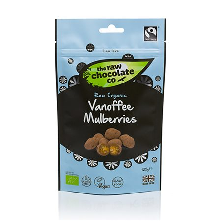 The Raw Chokolate Company • Morbær Vanoffe - 125 g