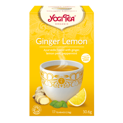Yogi Tea • Ginger/Lemon Ø - 17 br