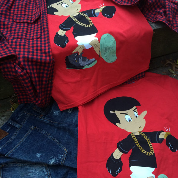 Everybody L!E$ Cherry Tee