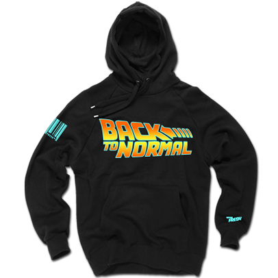 Back to Normal Hoodie (BLK)