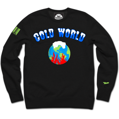 Cold World Crewneck