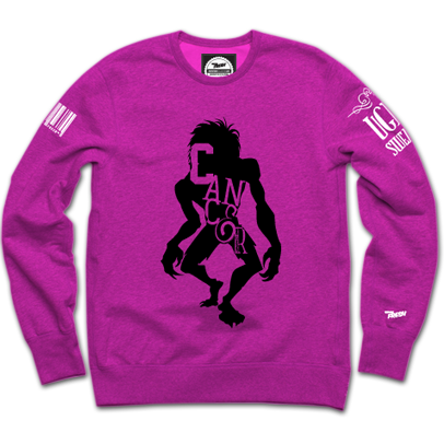 Cancer Monster Crewneck