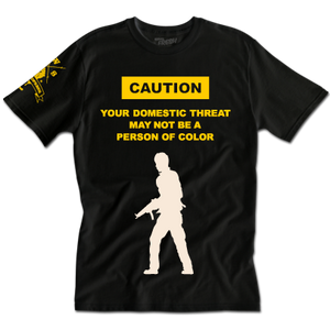 Caution Tee (BLK)