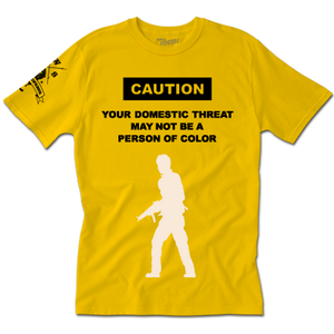 Caution Tee (Y)