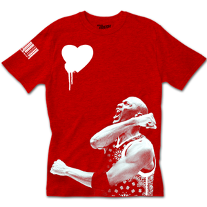 'For The Love' Chicago Red Tee