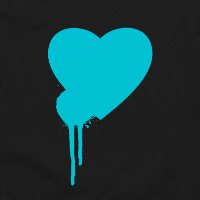 For The Love Aquatic Tee