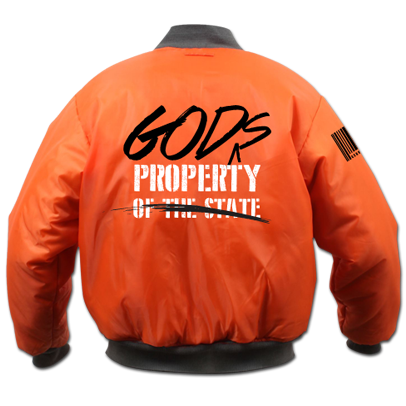 GOD's Property Flight Jacket