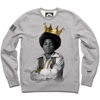 King of Pop Crewneck