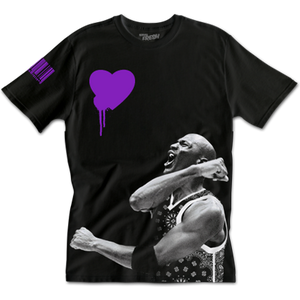 Purple Hearted Tee
