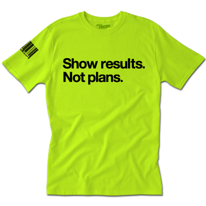 Results Tee (G)