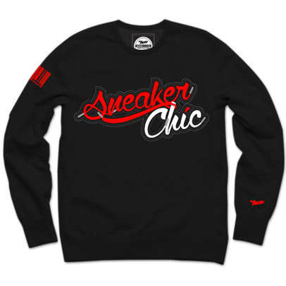SneakerChic™ Cherry + Vanilla Crewneck