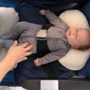 My Flight Hammock for babies on the airplane