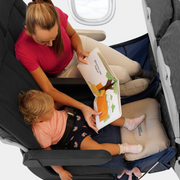 My Flight Hammock help children relax on flights
