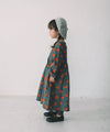【Restock】Cotton Brushed Fruit Print Pattern Dress