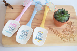 Colourful Spatulas