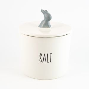 Salt Cannister (Grey)