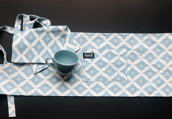 Blue Apron & Tea Towel