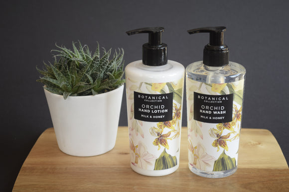 Orchid Hand Lotion and Wash
