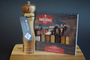 Smokehouse & Salt/Pepper Mill