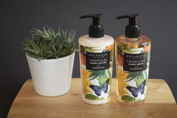 Tropical Hand Lotion and Wash