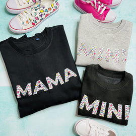 MAMA AND MINI SWEATSHIRT