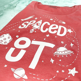 Spaced Out Adult and Kids Top