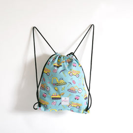 Drawstring bag mining pattern for girl single picture
