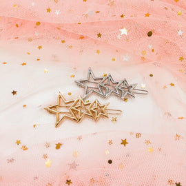 Make a Wish Hair Clips