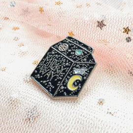 Milky Way to Go Pin