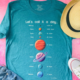 Solar System Day Length Top