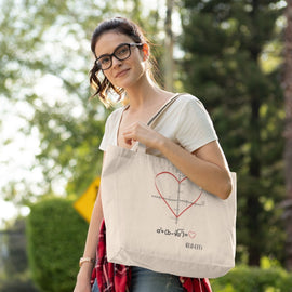 TOTE BAG - LOVE EQUATION