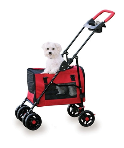 Four Paws 3 in 1 Pet Stroller - Puptoria