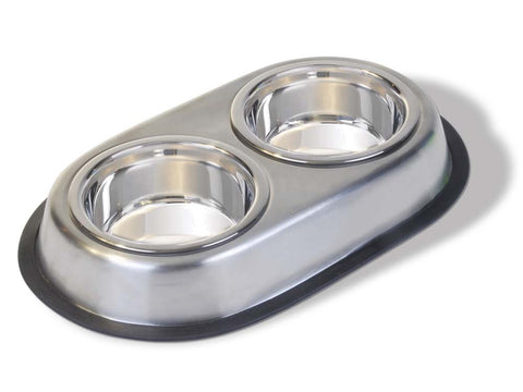Van Ness Stainless Double Dish