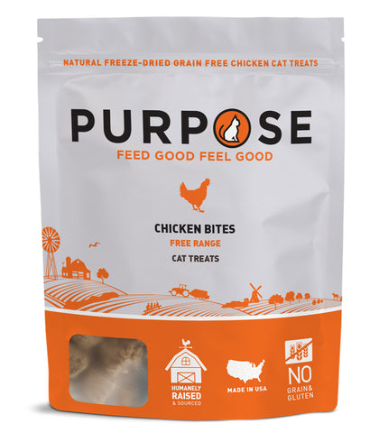 Purpose Freeze-Dried Chicken Cat Treats
