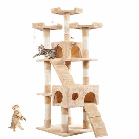 "66""/170cm Cat Tree Tower Condo - Puptoria"