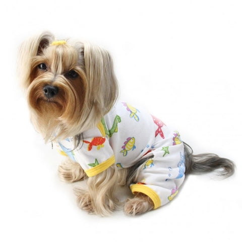 Ocean Pals Knit Cotton Pajamas - Puptoria