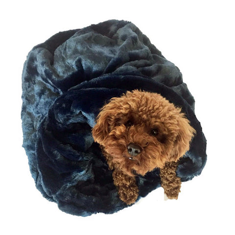 Navy Blue Bella Cozy - Puptoria