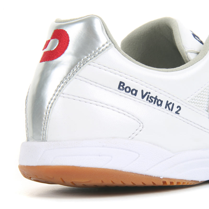 Desporte futsal shoes, Boa Vista KI2 White/Silver/Red
