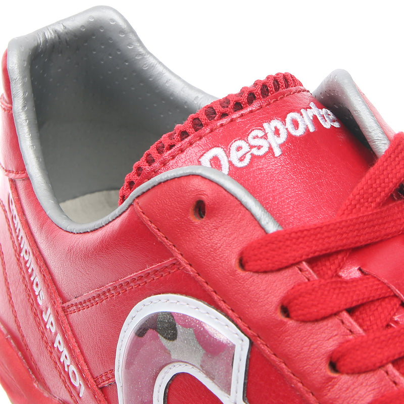 Desporte Campinas JP PRO1 DS-1730 Red/Red-Camo futsal shoe - shoe tongue