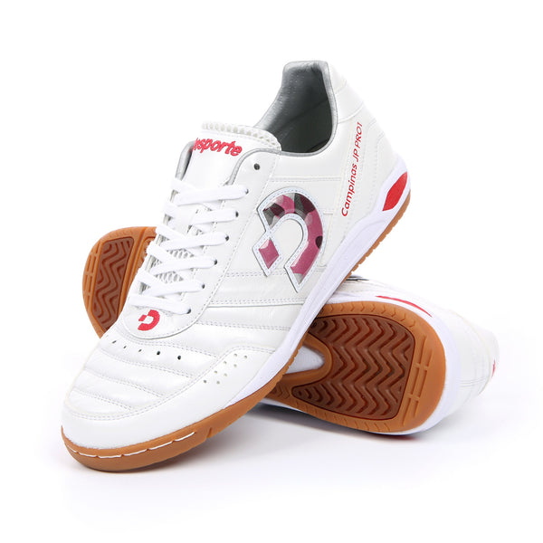 Desporte Campinas JP PRO1 DS-1730 White/Red-Camo futsal shoes